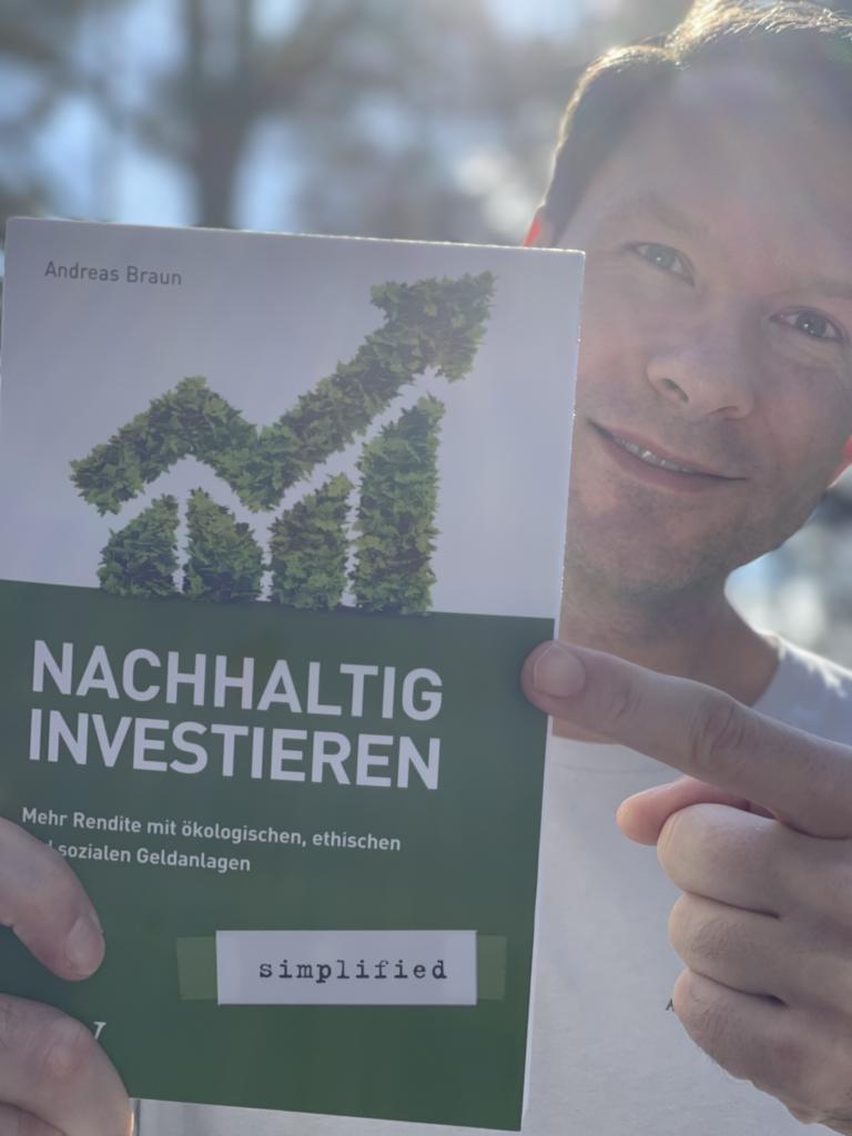 """Andreas Braun Buch """"Nachhaltig Investieren"""""""
