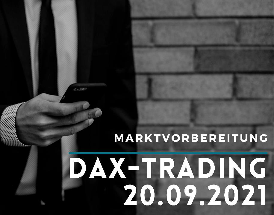 Teaser DAX-Morgenanalyse 20.09.2021